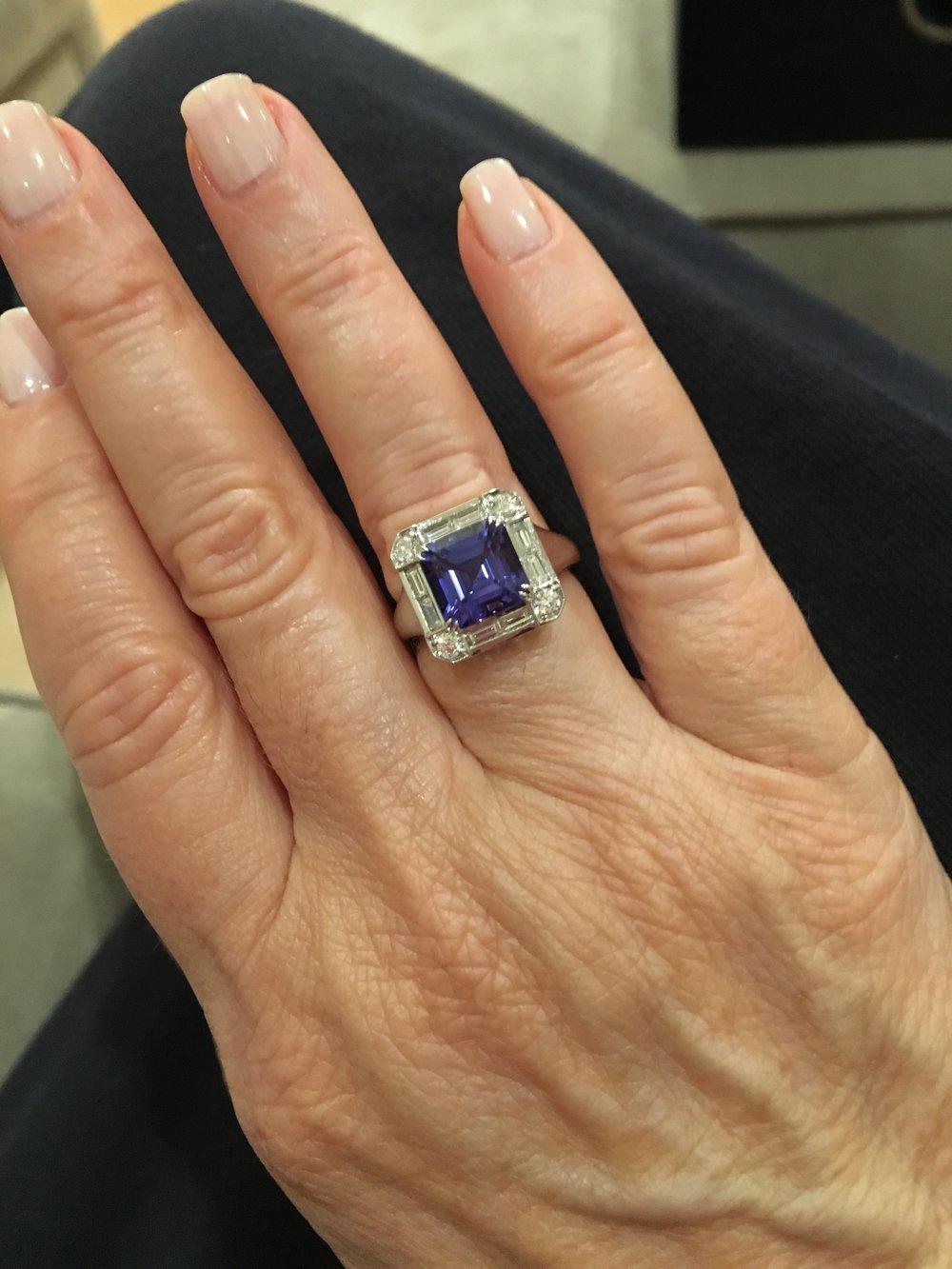 6-Tanzanite Ring (40th anniversary).JPG