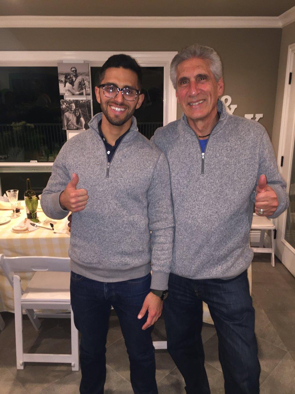 Noel & Me (twins-sweaters).JPG