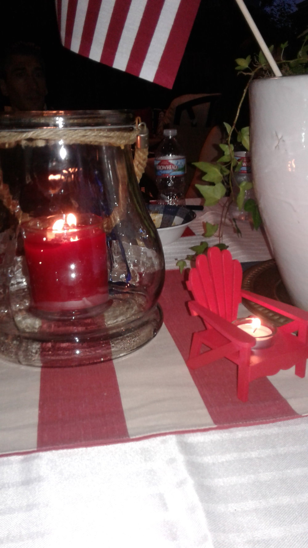 Red Candles, flag & Hot seat.jpg