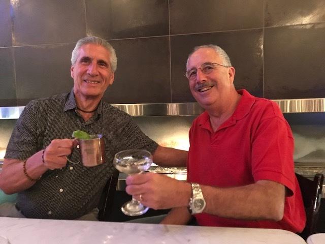 Mark & Me  toasting IMG_0561.JPG