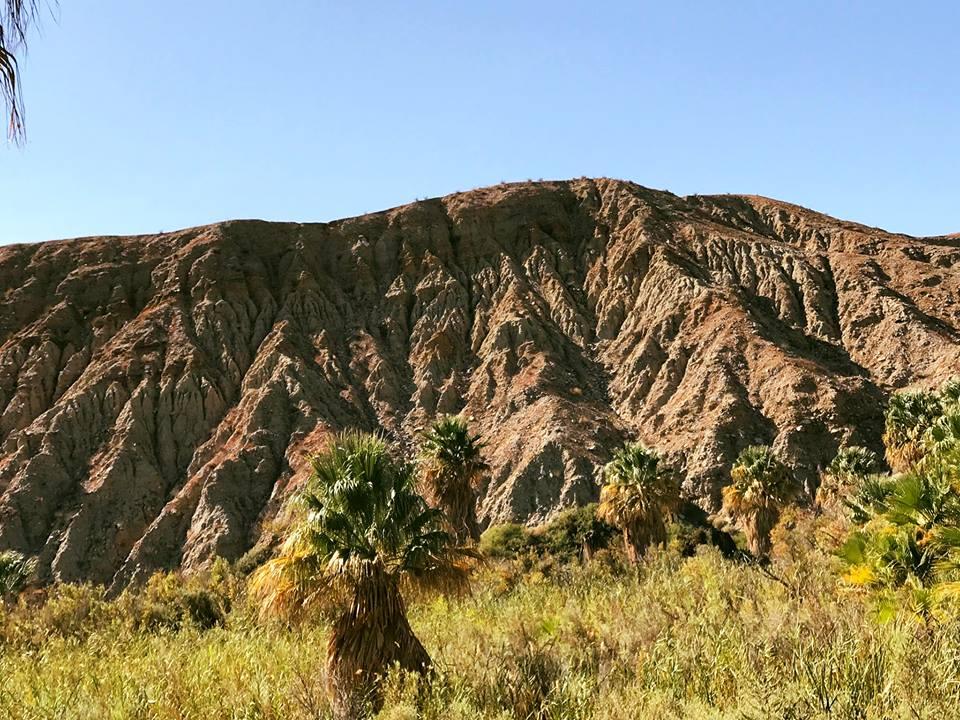 Mountain created by San Andreas Fault.jpg