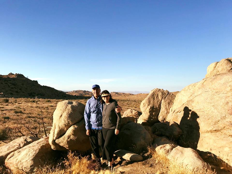 Cecile & Me Joshua Tree boulders.jpg