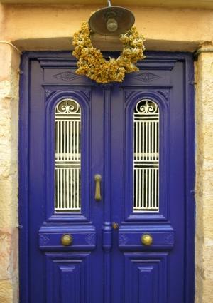 Blue Door in Greece stevetopper.com.jpg
