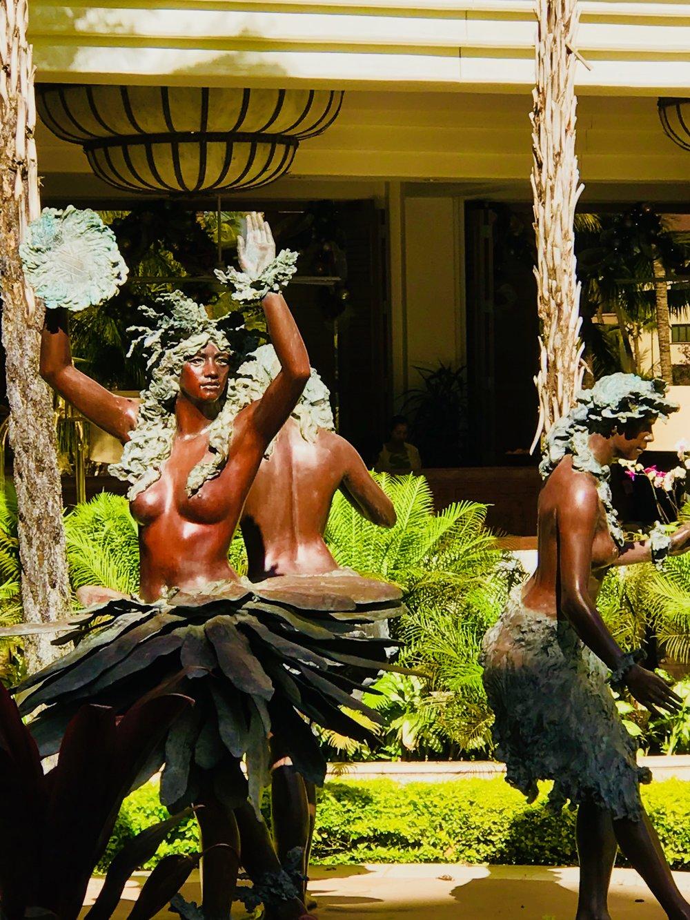Hawaiian Women dancers bronze GW.jpg*.jpg