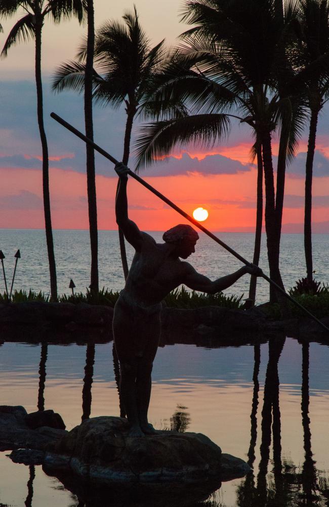 Grand Wailea sunset view of spear.jpeg