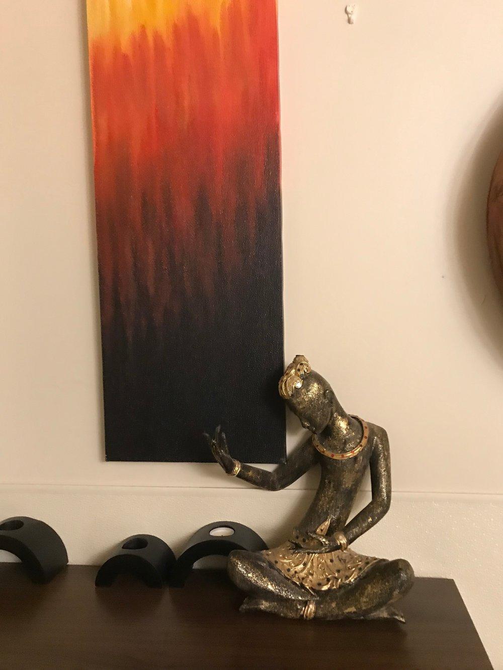 Thai Statue on table BR & painting.jpg*.jpg