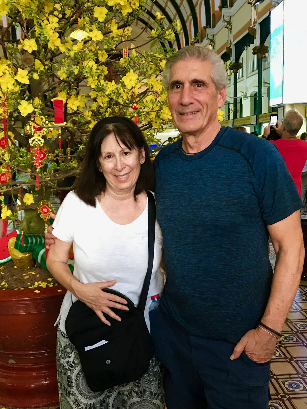 Cecile & Me Saigon Central PO front of yellow tree .jpg*.jpg