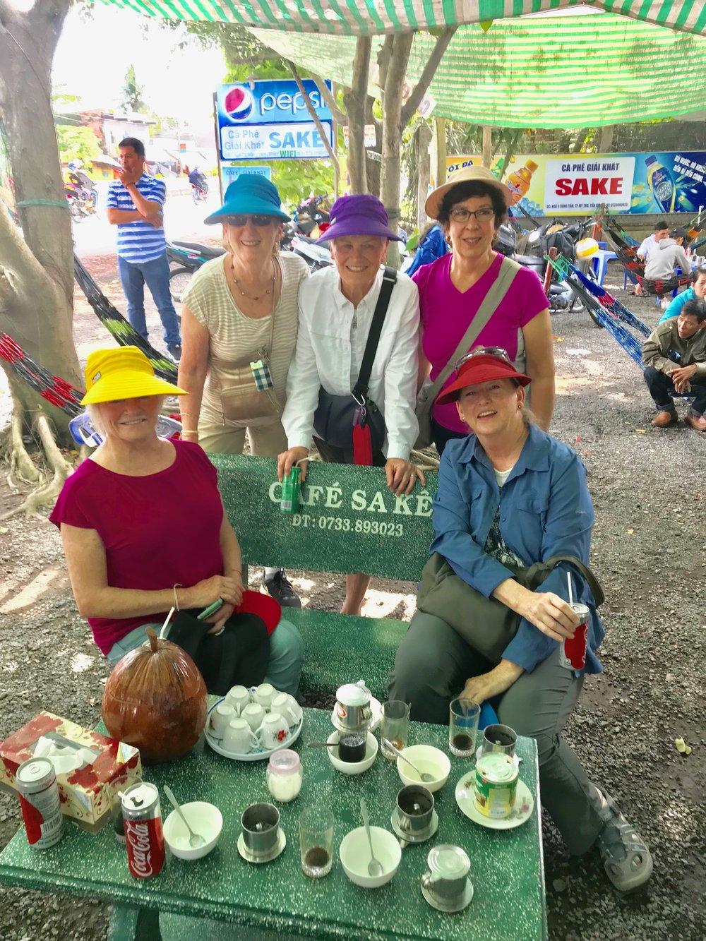 Cafe Sake pix of 5 woman sharing the trip.jpg*.jpg