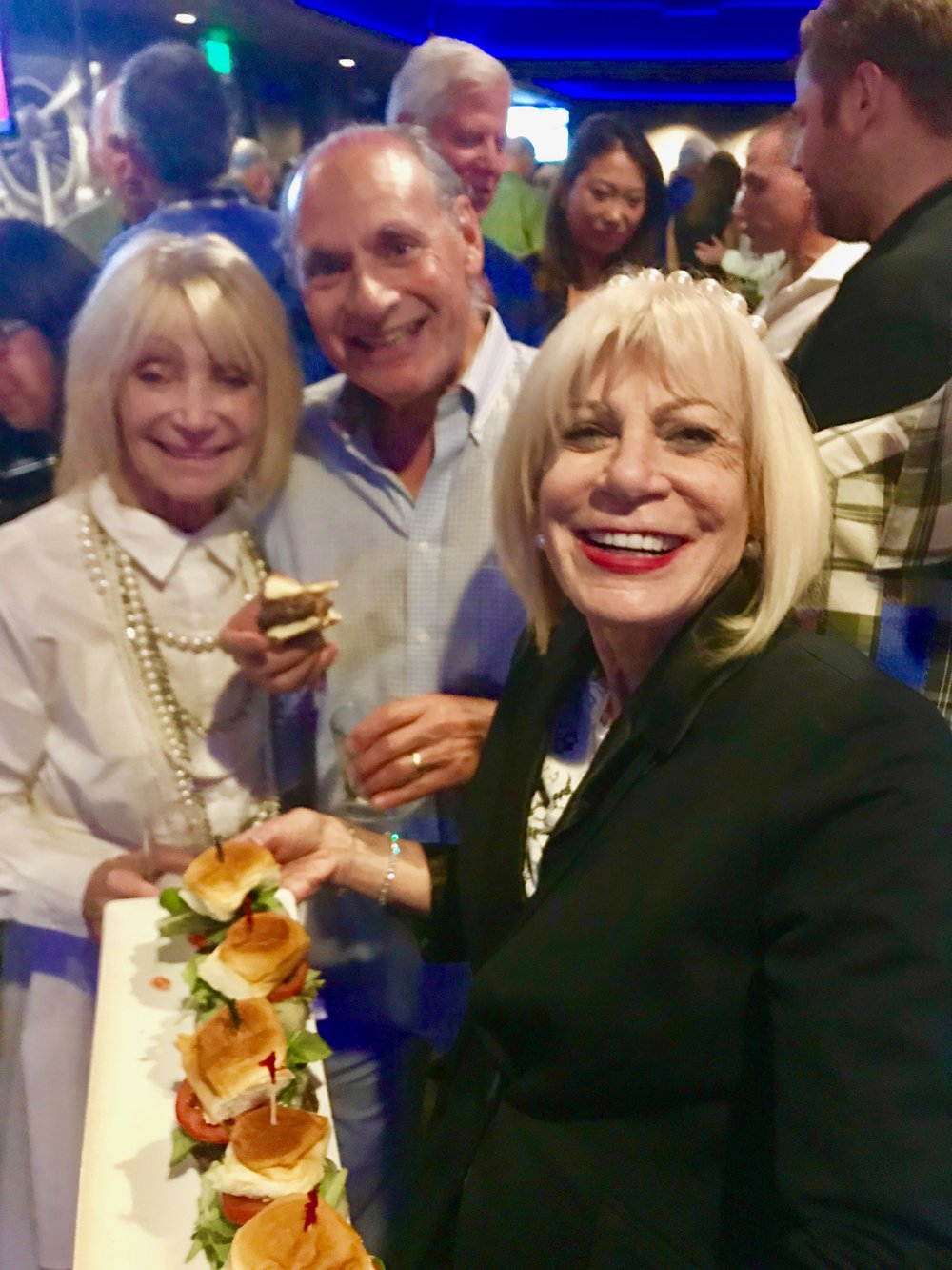 Ruth, Stan and TIna w Vegetarian sliders).jpg*.jpg