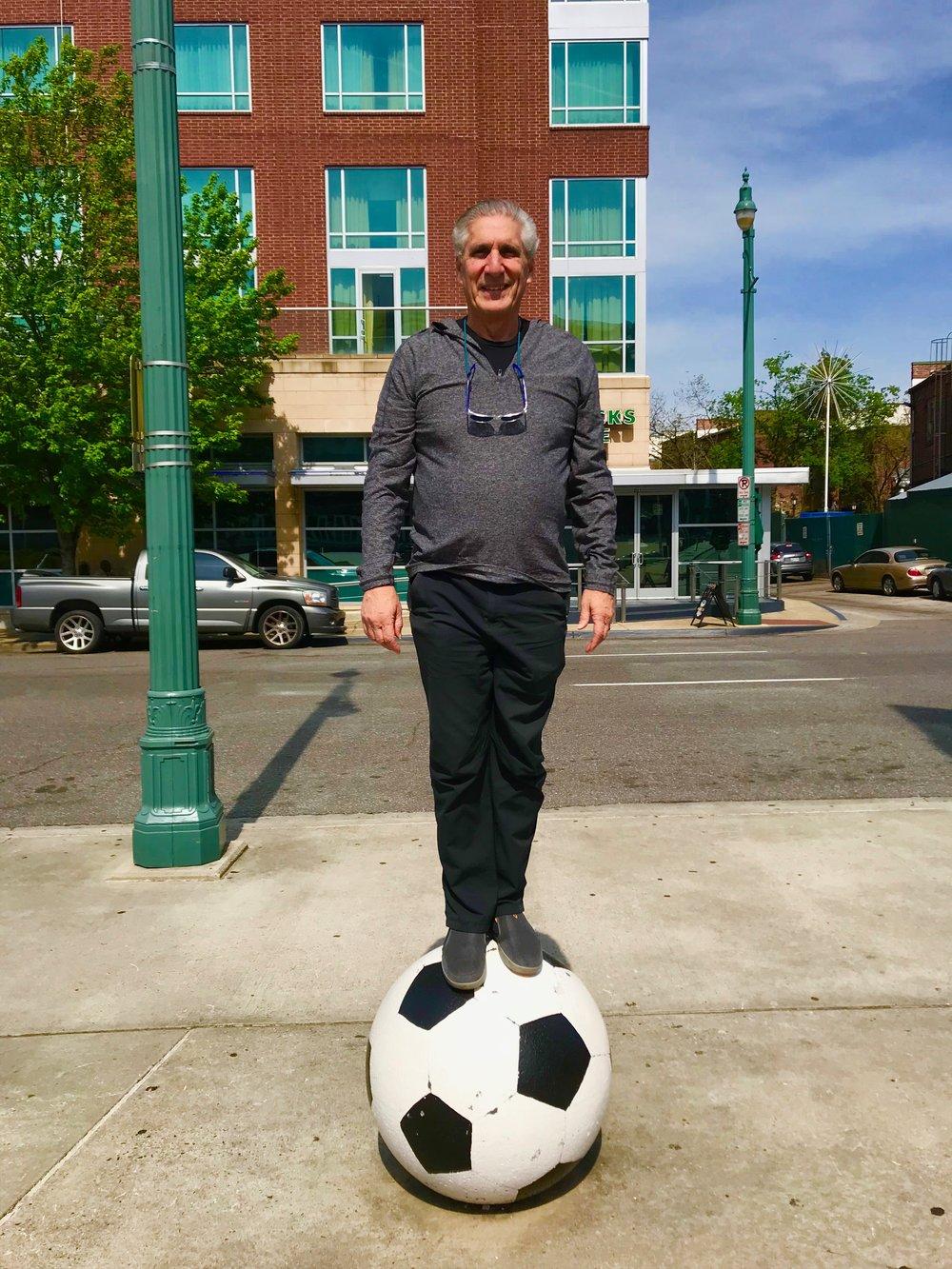 Standing on Soccer Ball.jpg