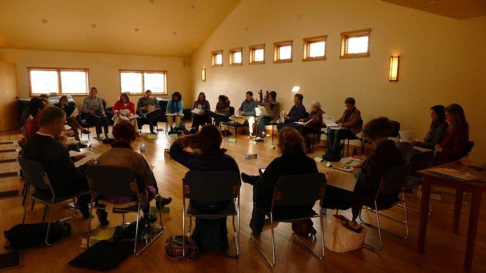 ASDIC Circle at Common Ground Meditation Center, 2016