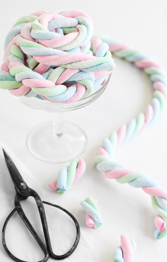 Marshmallow Swirl Lollie Rope. Unicorn - A Suggested Lip Smacker Flavour