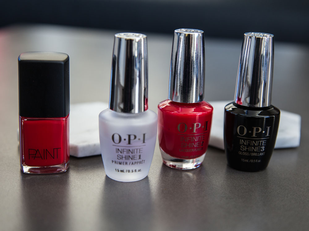 Non-Toxic Nail Polish vs My Signature Red OPI — Set to Glow