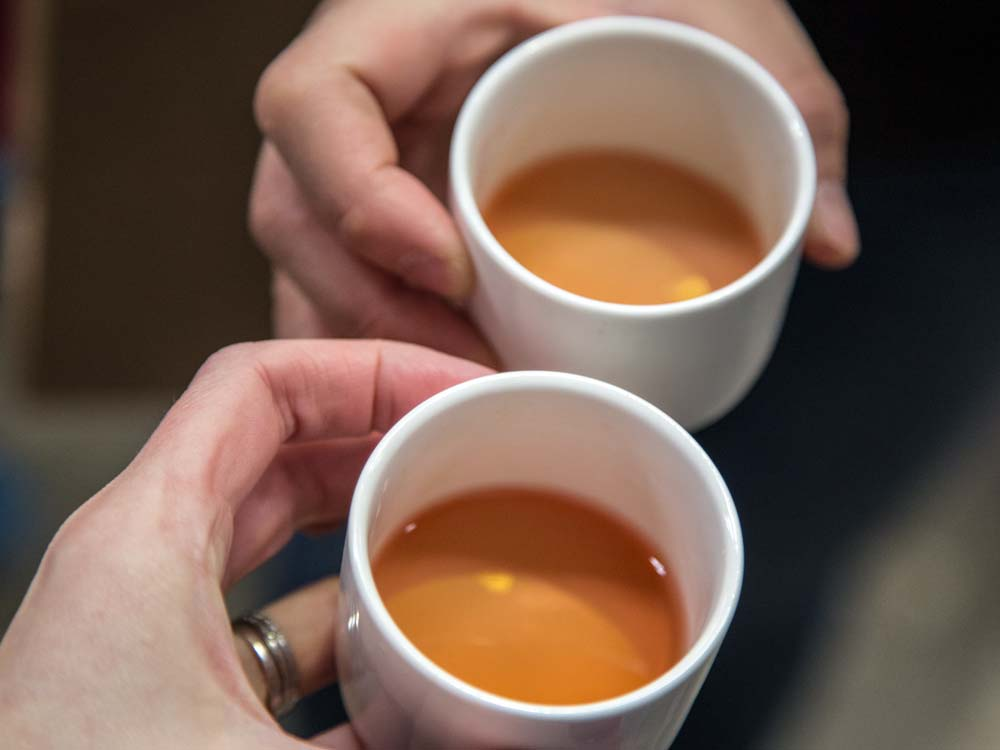 Free Ceramic Tasting Cup at the Entrance to the Sydney Tea Festival