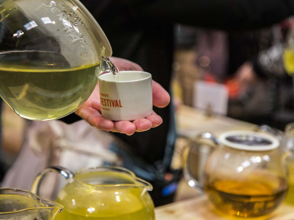 Drinking Tea for Optimum Health; Sencha Tea