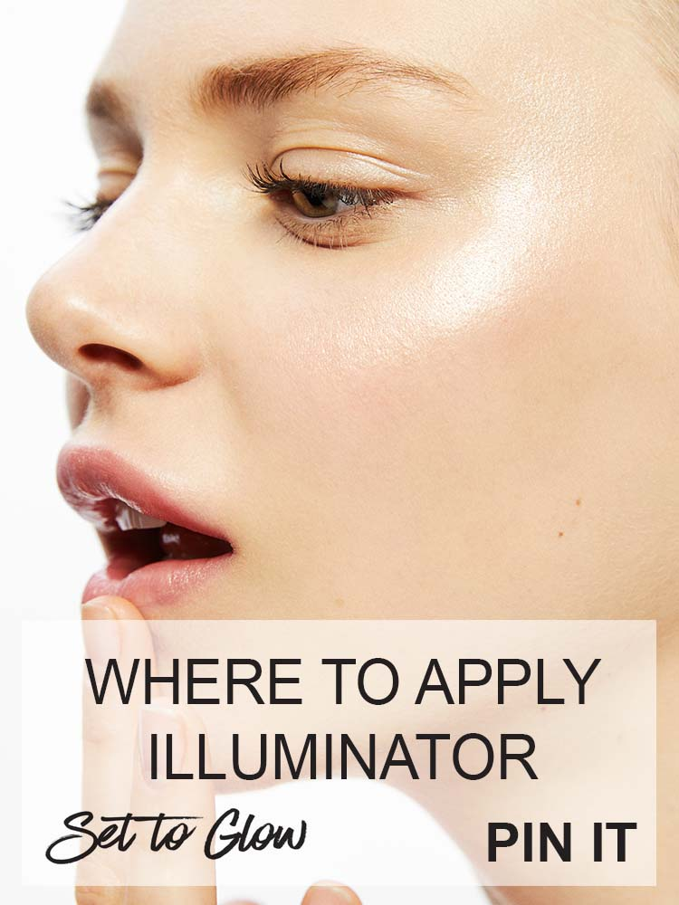 Where to Apply Illuminator, The Lazy Girl's Guide to Highlighters and Illuminators. Image Source - Google