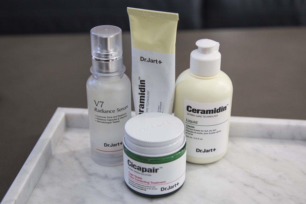 Dr Jart+ and Korean Skincare; Dr Jart+ V7 Radiance Serum, Dr Jart+ Ceramidin™ Cream, Dr Jart+ Ceramidin™ Liquid, Dr Jart+ Cicapair™ Tiger Grass Cream