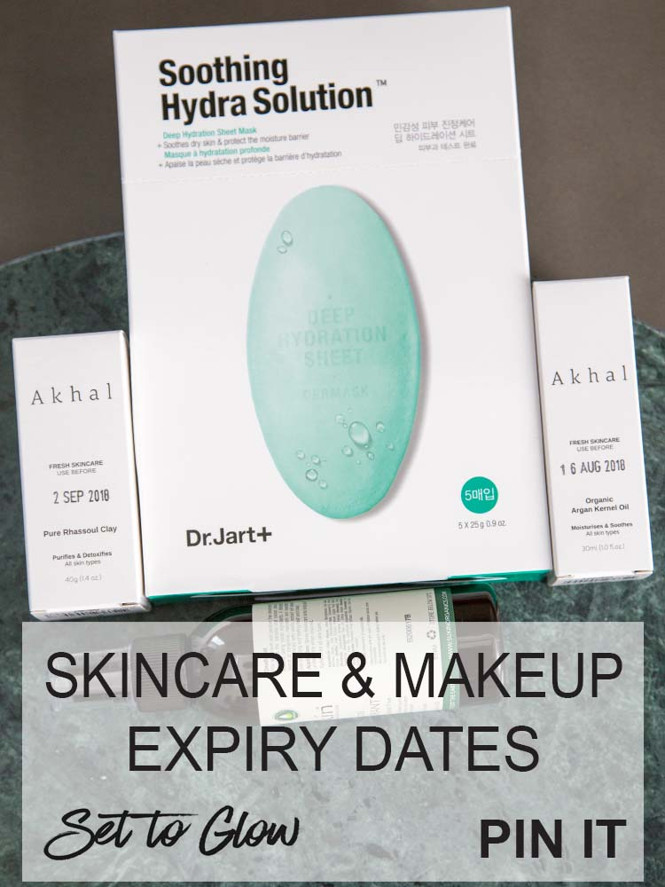 Skincare and Cosmetic Expiry Dates; When Should you Throw Out Products?