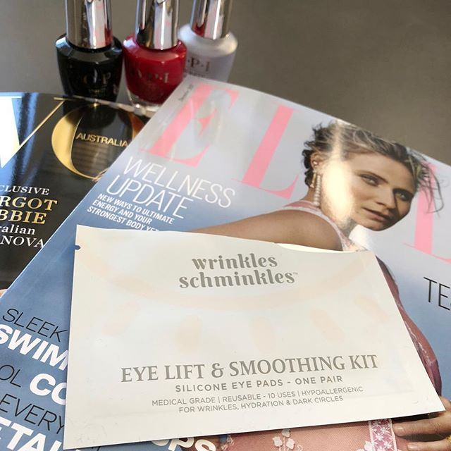 Relaxing with my @wrinklesschminkles Eye Lift & Smoothing Kit. These babies are reusable for up to 10 uses since they are made from medical grade silicone. Looking forward to smoothing! www.settoglow.com.au . . . . . #wrinklesschminkles #antiaging #antiagingtreatment #antiagingproducts #antiagingclinic #noninvasive #noninvasivetreatment #beautyproduct #antiwrinkle #antiwrinkletreatment #wrinklefree #wrinkles #nonsurgicallift #nonsurgical #nonsurgicalfacelift #preventative #transformation #30plusskincare #365inskincare #discoverunder10k #skinstagrammer #naturalbeauty