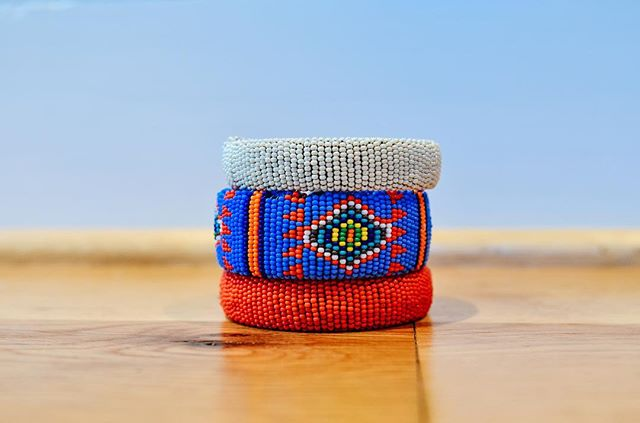 Lots of new beaded bangles listed online. These make the perfect gifts! Pssst they're all still 30% off!!