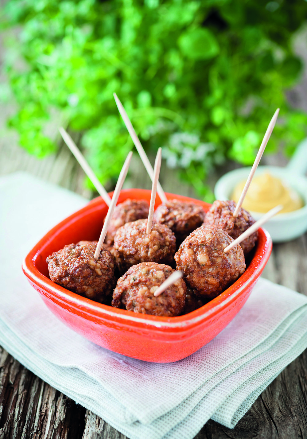 Mighty Meatballs from The Friendliest Lunchbox Recipe Book