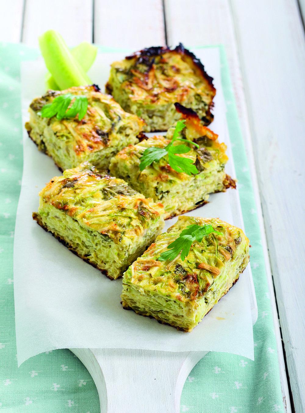 Green Eggs & Ham frittata from The Friendliest Lunchbox Book