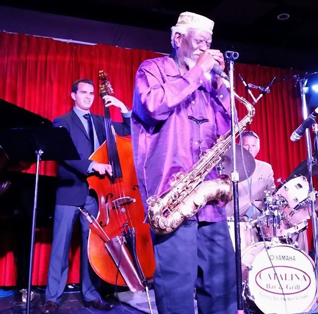 Pharaoh Sanders, Harold Mabern & Joe Farnsworth at Catalina's in CA