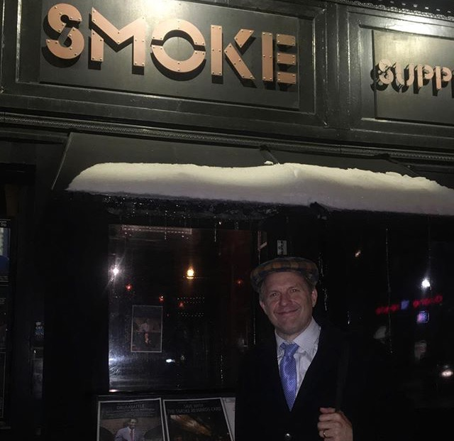 Joe Farnsworth, drummer at Smoke Jazz & Supper Club