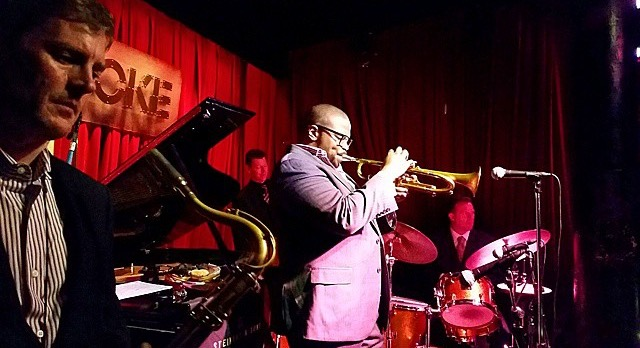 Eric Alexander, Jeremy Pelt, Joe Farnsworth, John Webber at Smoke Jazz & Supper Club