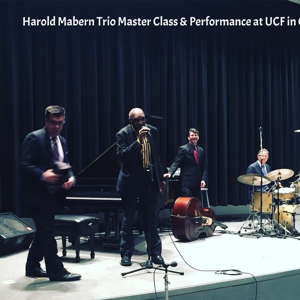 Master Class at UCF and Performance at UCF Jazz Fest 2018