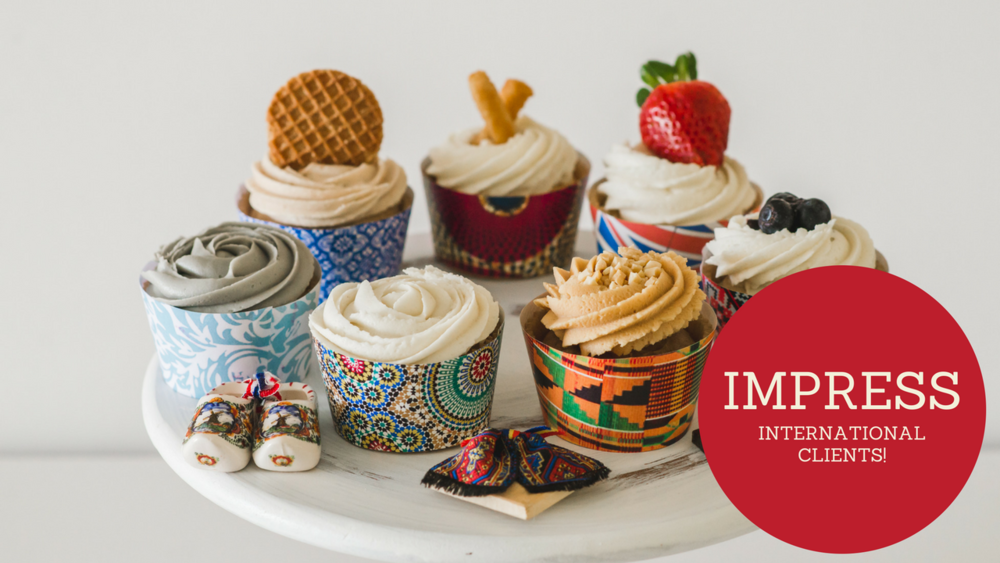 Culture inspired cupcakes