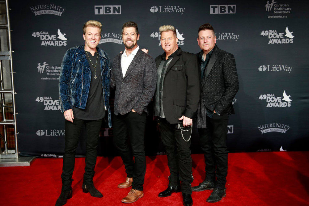 Jason Crabb & Rascal Flatts on the GMA Dove Awards Red Carpet, Tuesday, October 16, 2018 Photo: Jamie Gillam / GMA Dove Awards