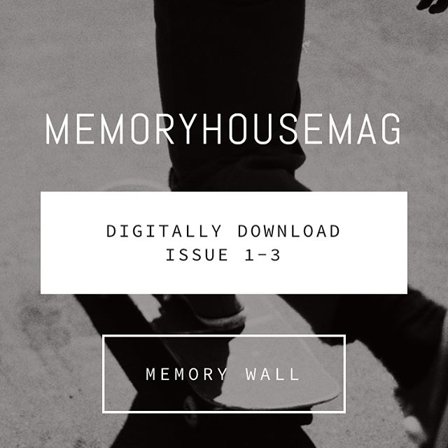 Issue 1-3 now available for digital download at Memoryhousemag.com  #skateaz #ccsbacklight #zine #skateboarding #35mm #skateaustralia #michiganskateboarding