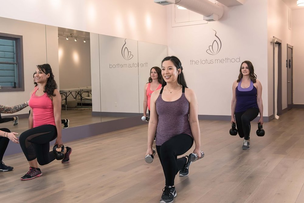 """Their complimentary small group classes in addition to your personal training sessions are the cherry on top!  A great way to meet other expecting and new moms!"" - Jane M."
