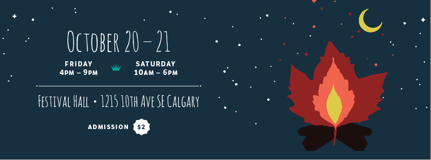 NCC October 2017 - I'm very excited to be one of the vendors at the upcoming New Craft Coalition! I have been a long time admirer of the founders and many of the previous vendors. Although smaller than some of the other craft fairs in Calgary, New Craft Coalition consistently offers a diverse selection of artists producing high-quality, hand-made items. The intimate setting is also more conducive to getting to know the artists selling their work. Hope to see you there!Festival Hall, Inglewood1215 — 10th Avenue S.E.Calgary, AB$2 Admission
