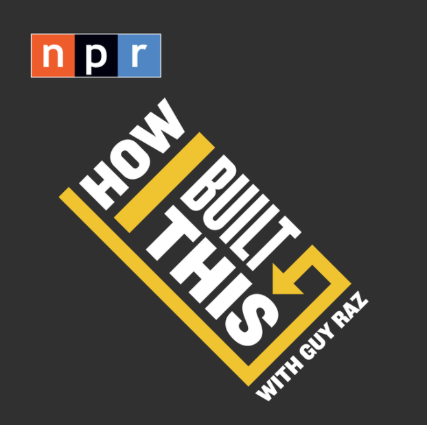 How I Built This - NPR Podcast:  I am a sucker for good podcasts! I'm an even bigger sucker for hearing how everyday people built some of the biggest companies and  How I Built This  combines those two passions. Hearing other entrepreneur's stories, their tribulations, their successes - it is  so  empowering!