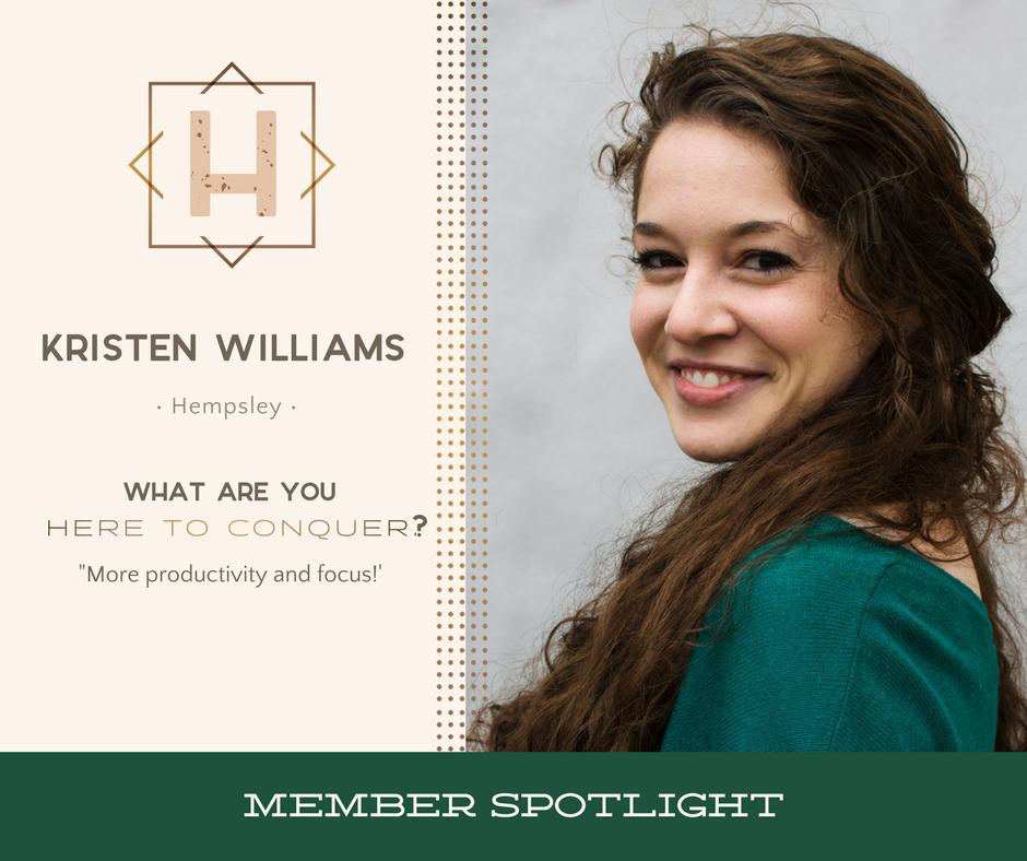 Kristen Williams - Founder of Hempsley