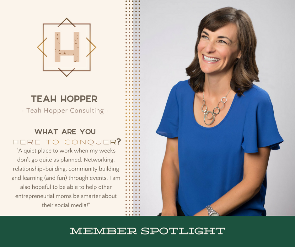 Teah Hopper - Owner of Teah Hopper Consulting