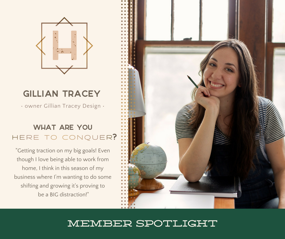 Gillian Tracey - Owner of Gillian Tracey Design