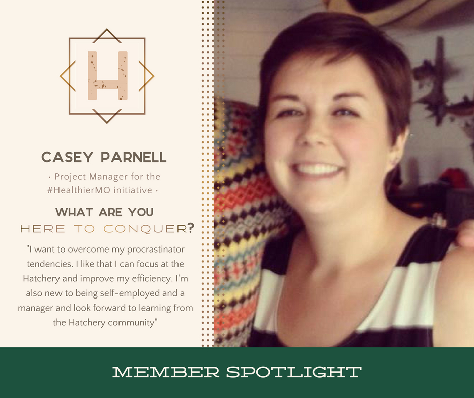 Casey Parnell - Project Manager | HealthierMO Initiative