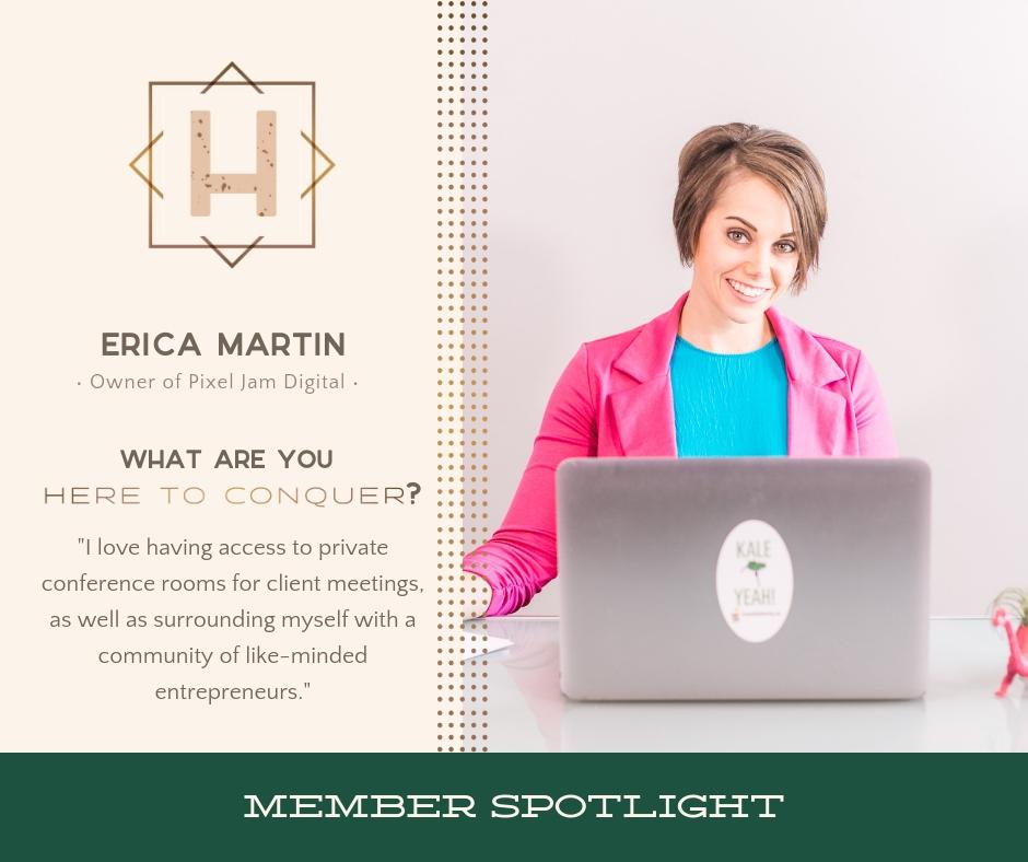Erica Martin | Owner of Pixel Jam Digital