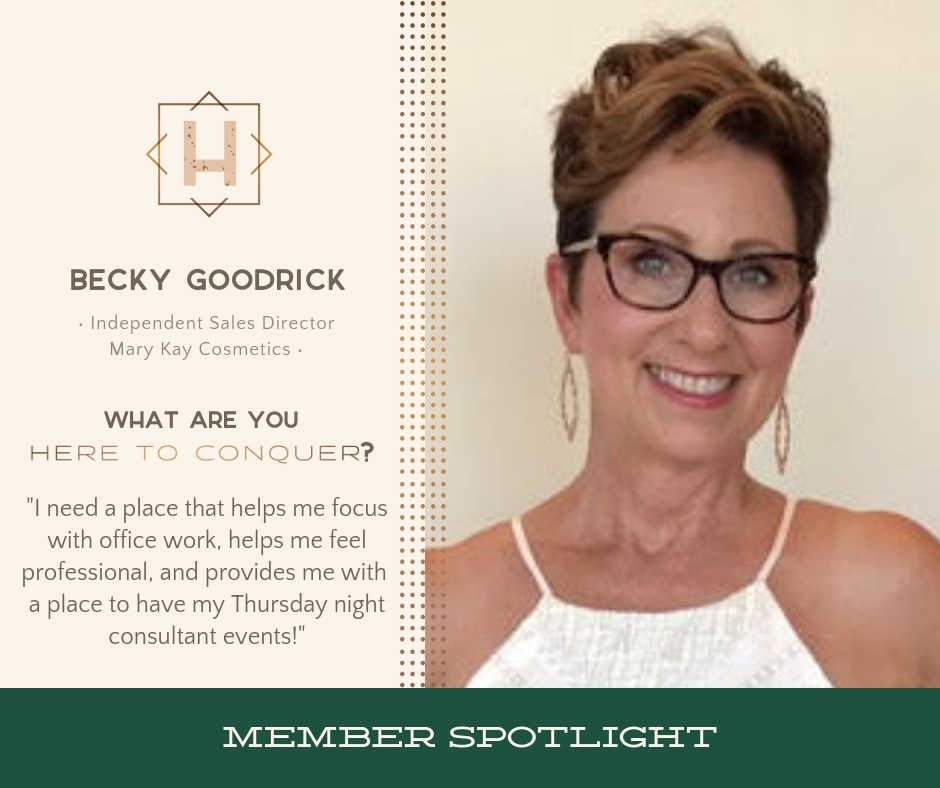Becky Goodrick - Mary Kay Sales Director and Makeup Artist