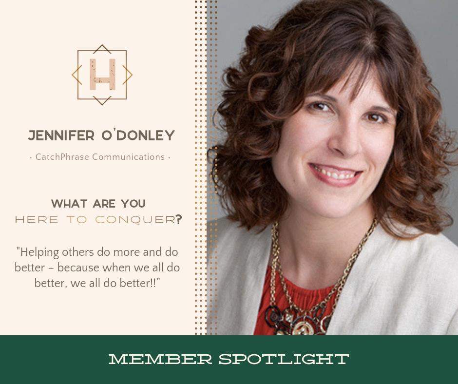 Jennifer O'Donley - Owner of CatchPhrase Communications