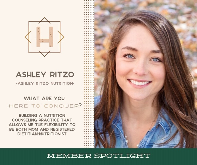 Ashley Ritzo, RDN LD - Owner of Ashely Ritzo Nutrition