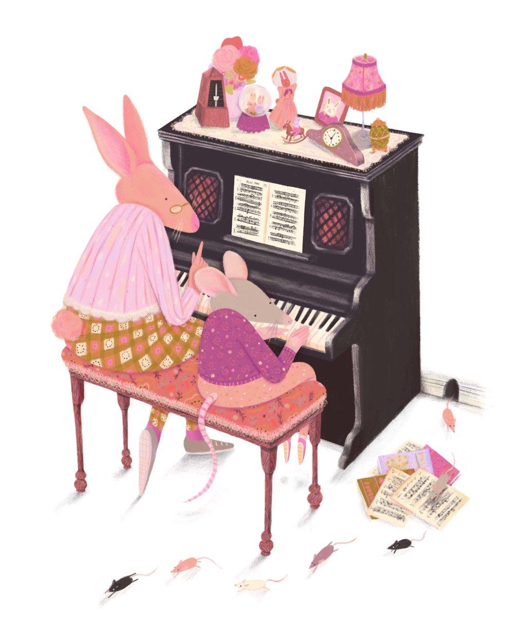 Piano Lesson, 2018