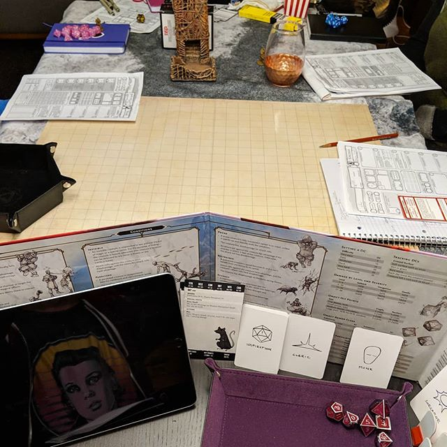 Last night's Session Zero.  #dungeonsanddragons #tabletoprpg #dnd #sessionzero