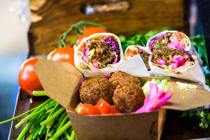 It's a wrap - Kofta wraps, tofu or raw?