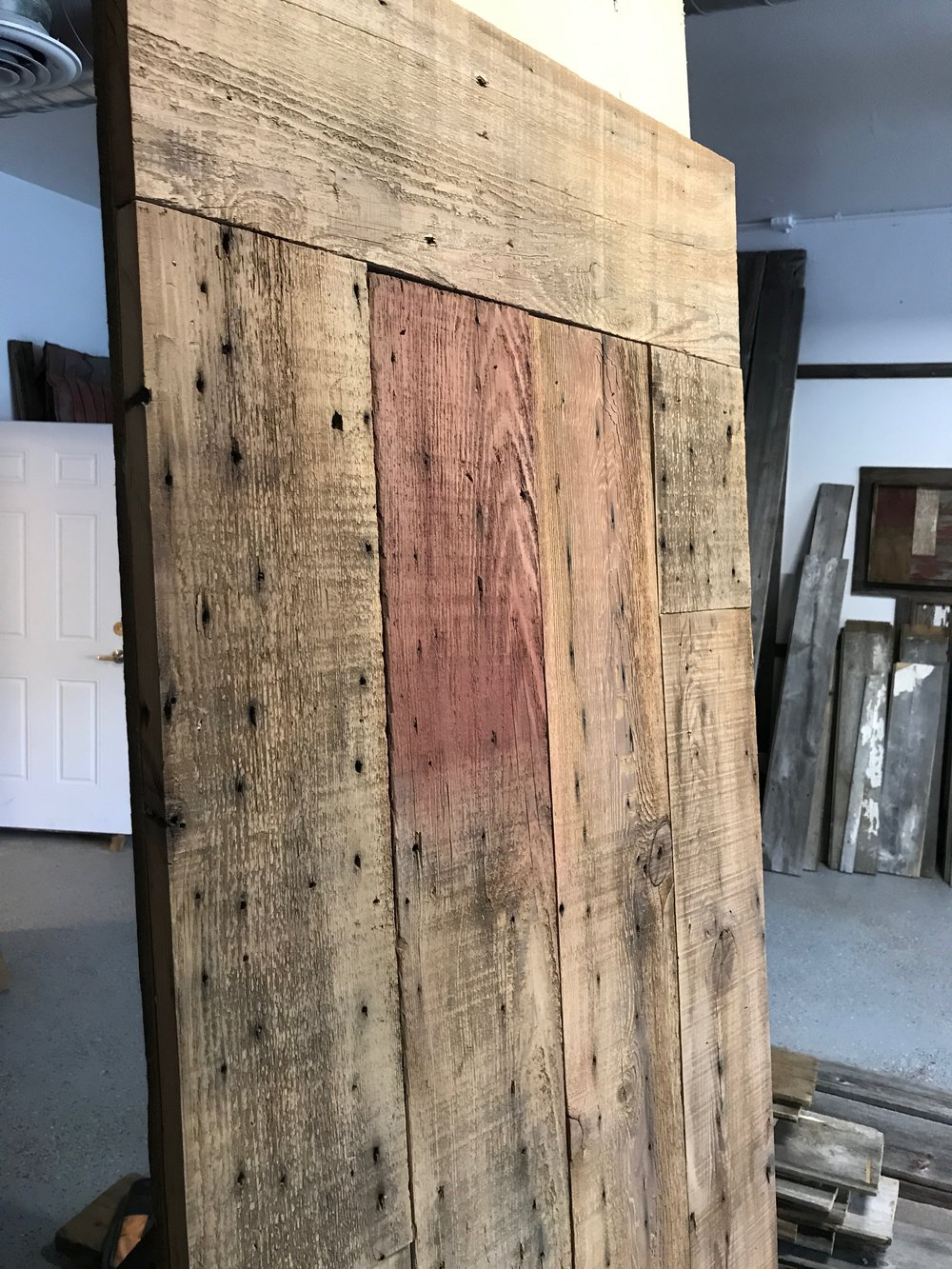barndoor brown with reclaimed wood