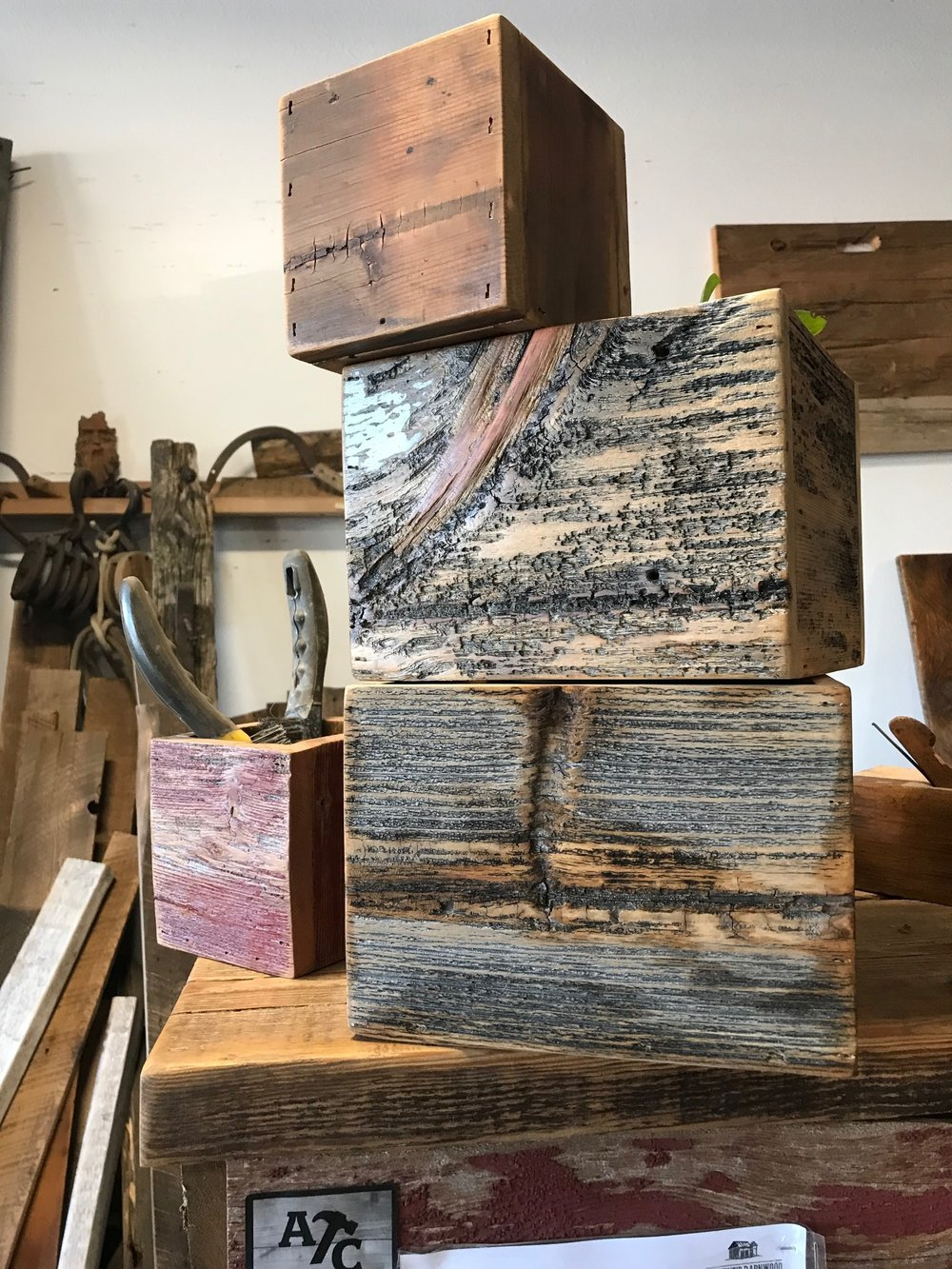 barnwood boulder