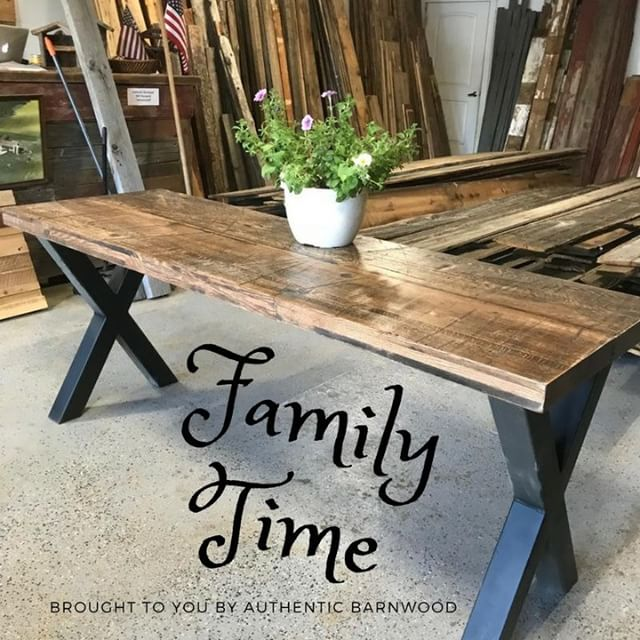 Are you ready from some quality family time? Imagine all of your family gathered around a table like this. Stop in Today to make your dreams come true!  #longmont #longmontbarnwood #houseproject #DIY #reclaimedwood #downtownlongmont #mainstreetlongmont #farmtable #farmhouse #barnwood